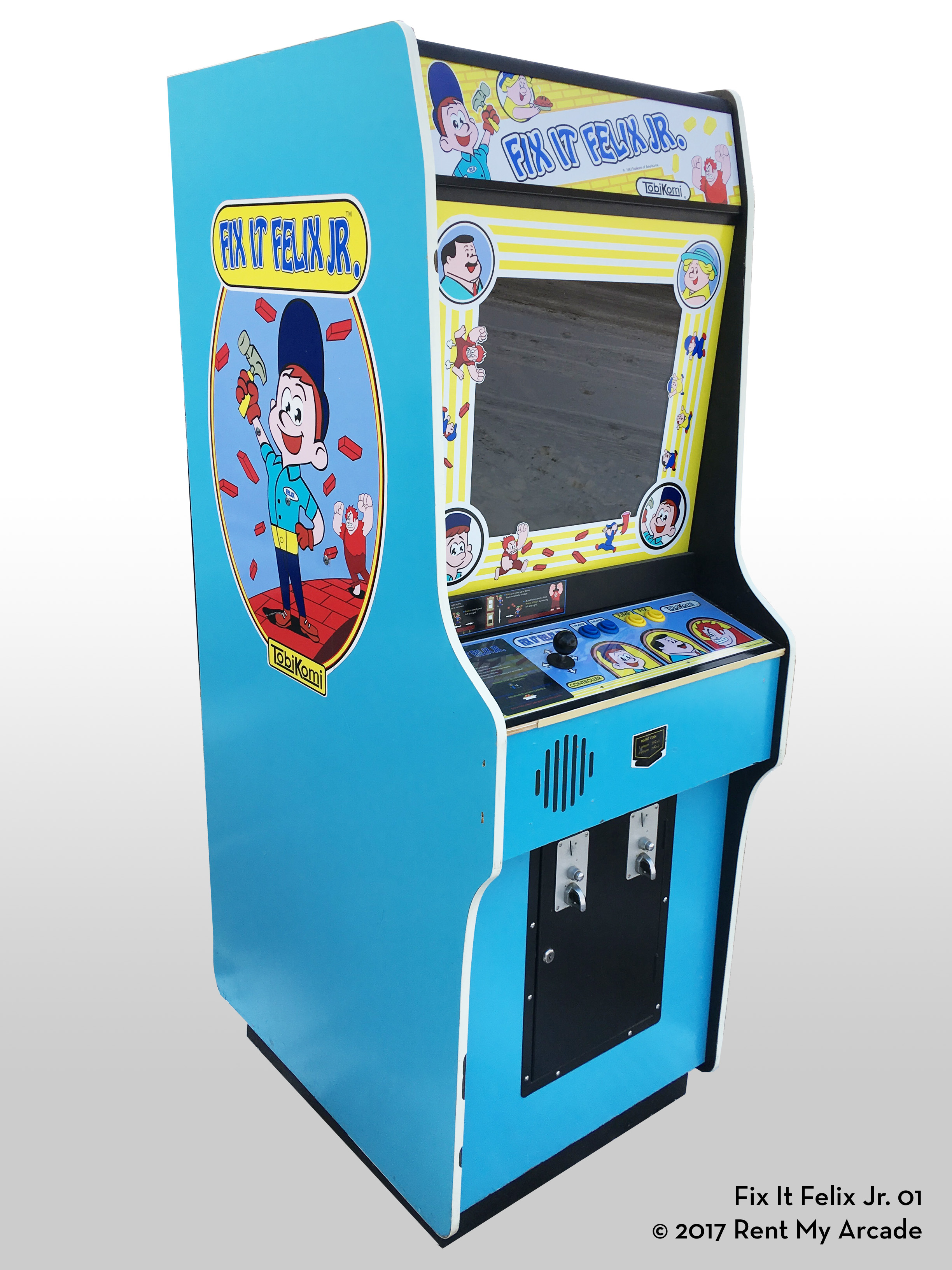 Fix It Felix Jr Rent My Arcade