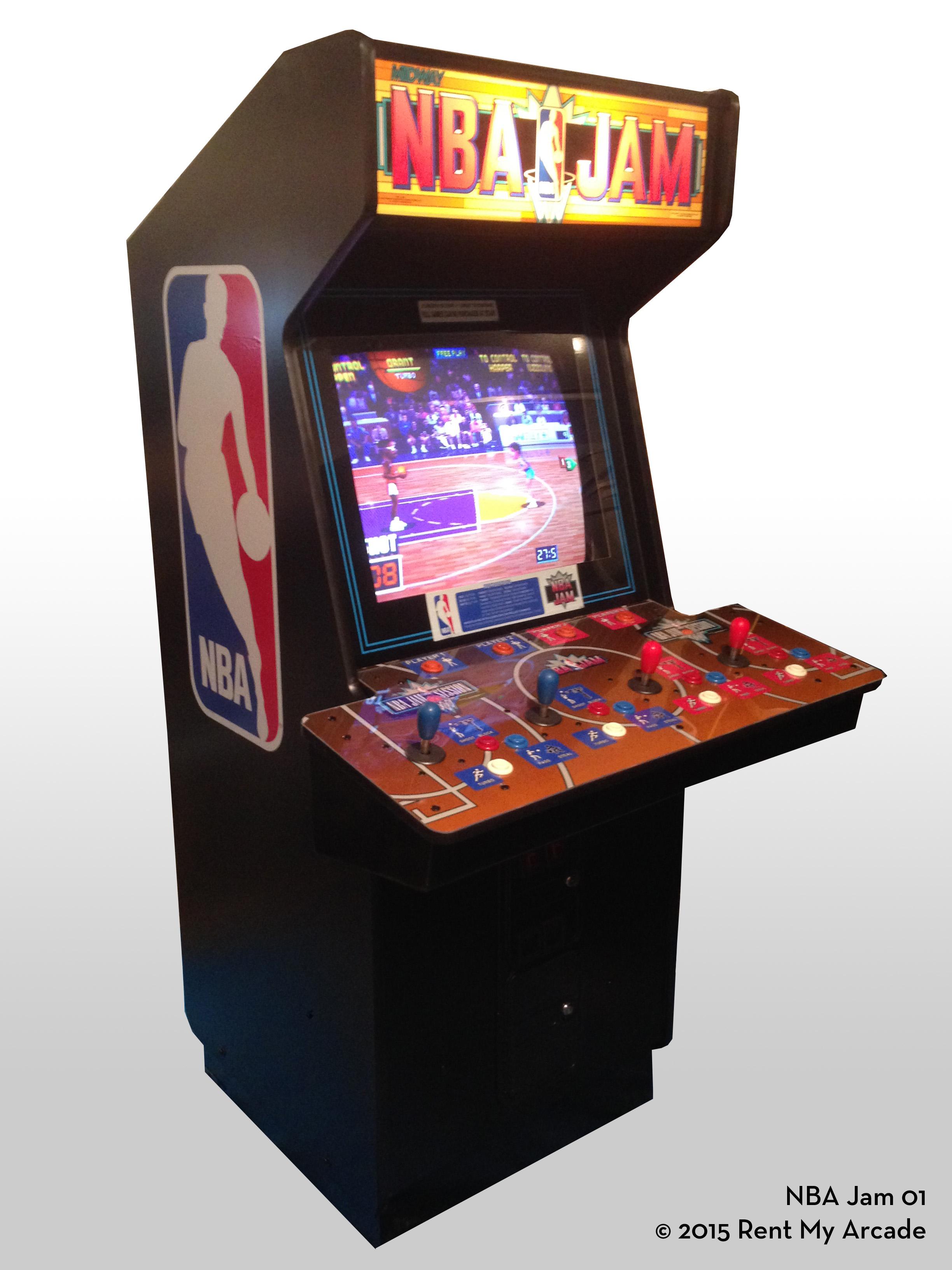 NBA Jam   Rent My Arcade
