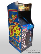 Ms. Pac - Galaga - Left