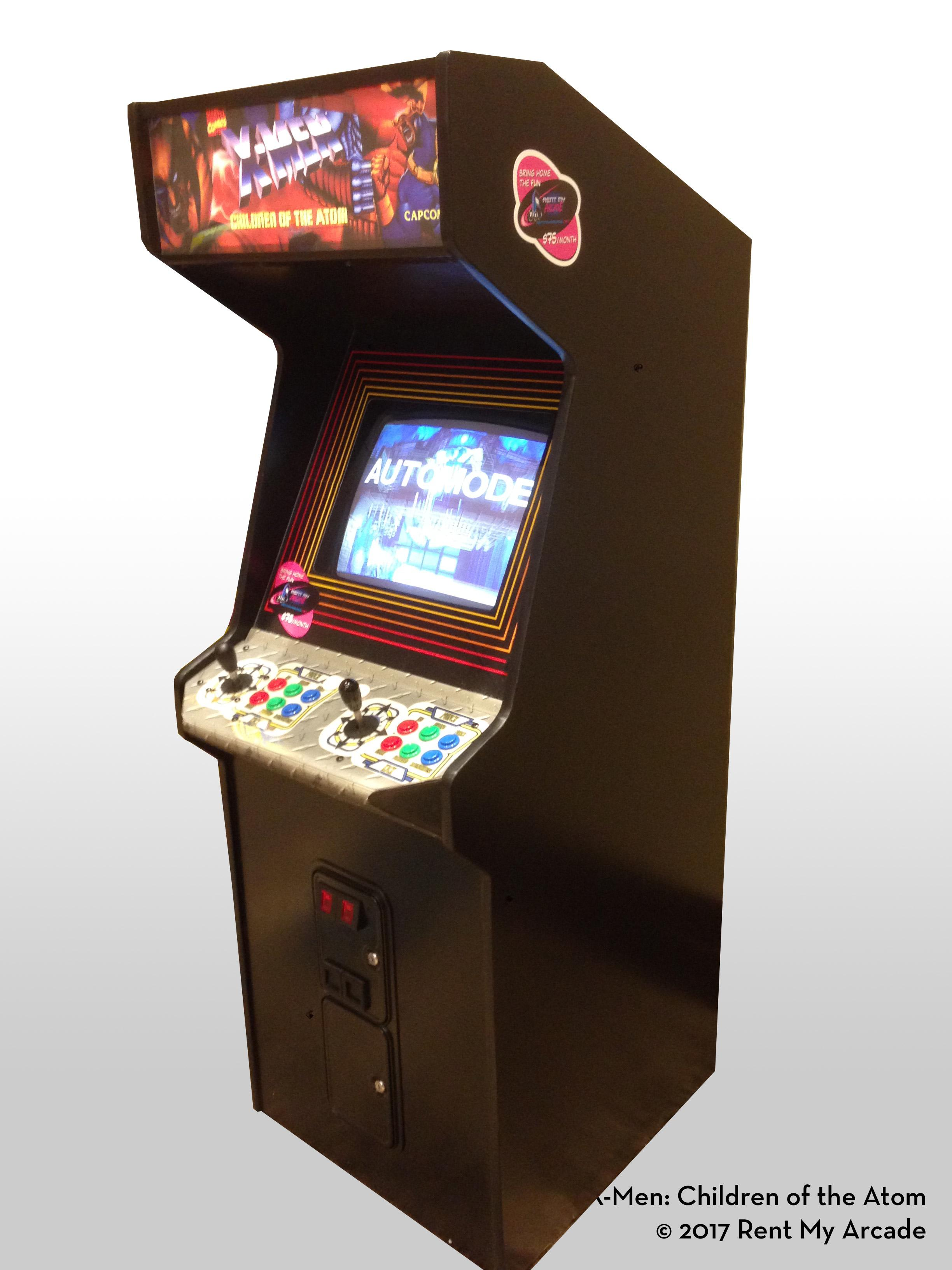 Previous; Next  sc 1 st  Rent My Arcade & X-Men: Children of the Atom | Rent My Arcade