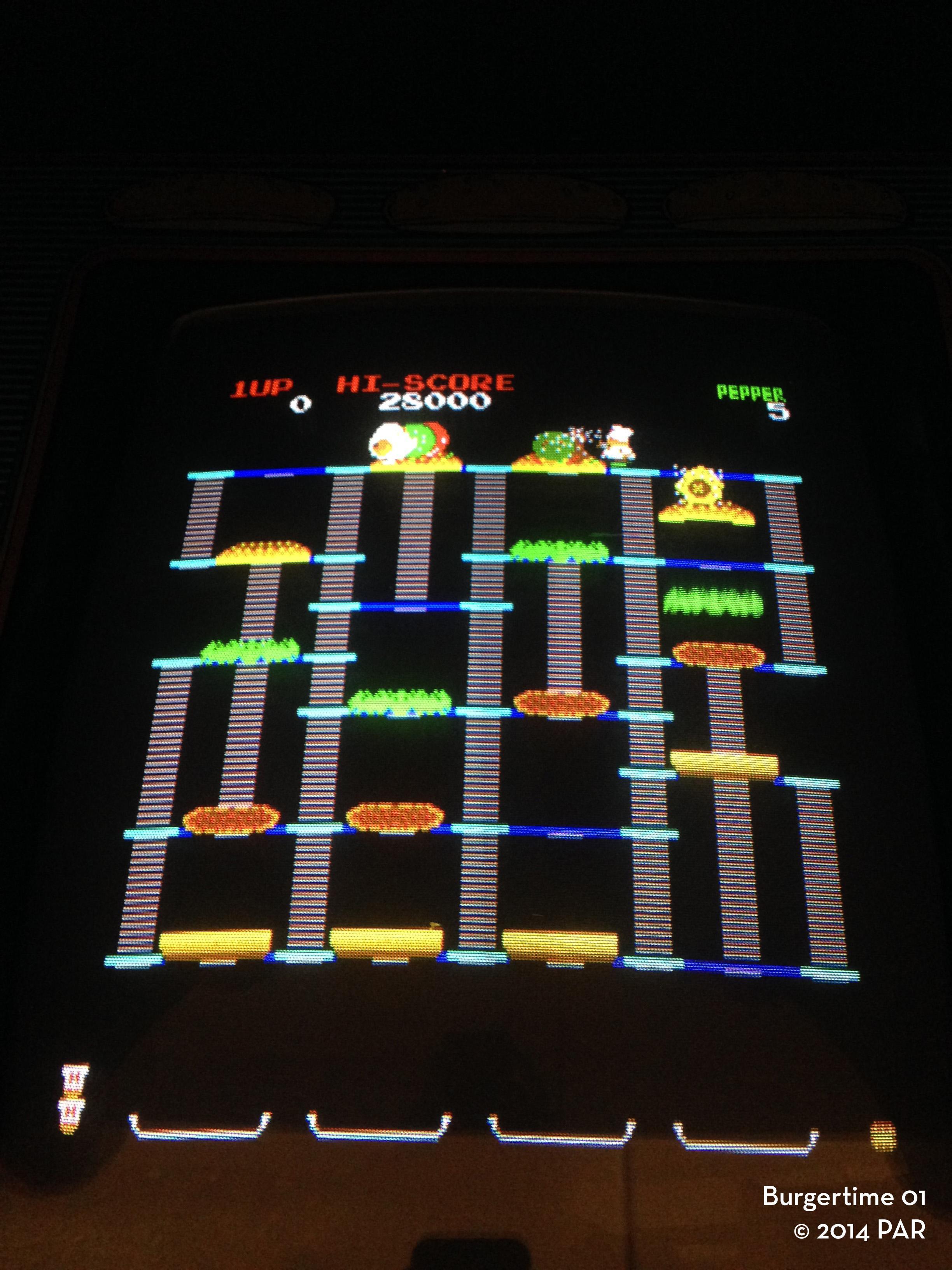 Burgertime Rent My Arcade