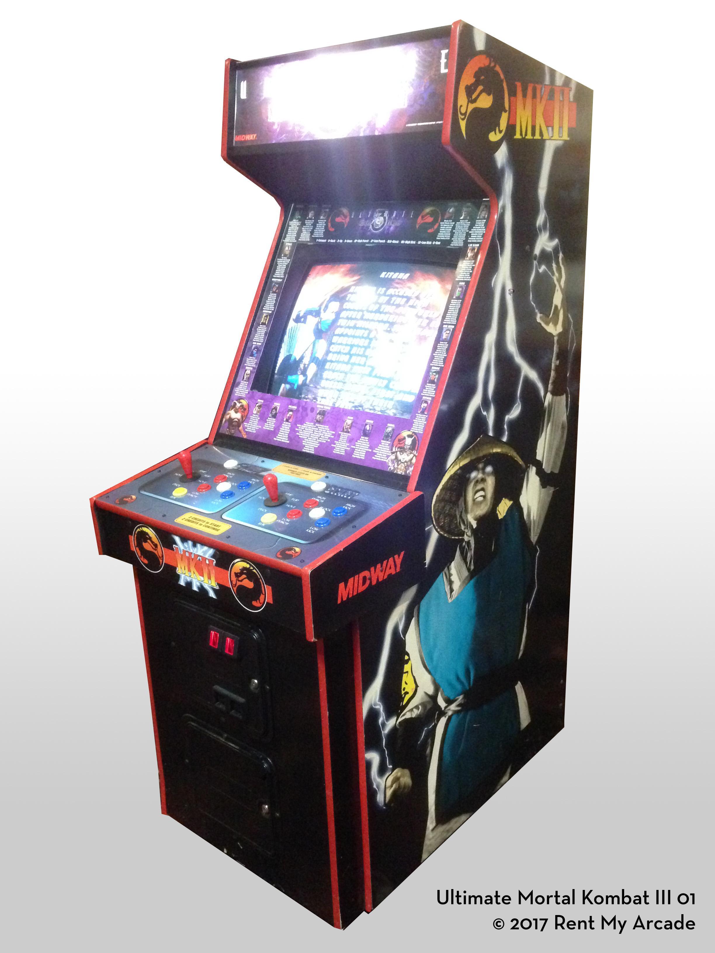 Mortal Kombat Ii Or Ultimate Mk3 Rent My Arcade